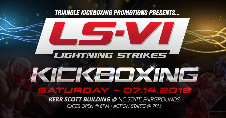 Kickboxing Event - Lightning Strikes VI