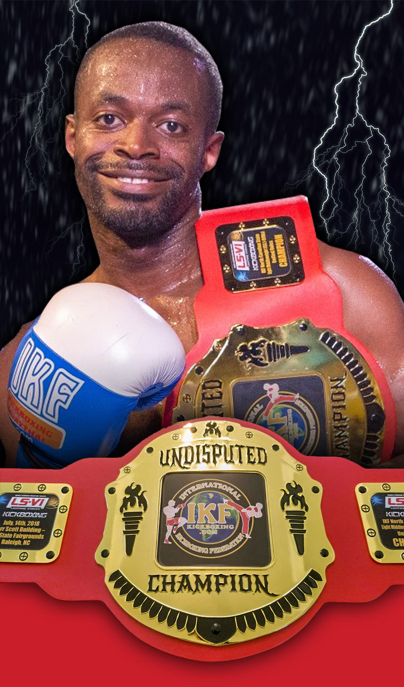 Georges Kopa Triangle Kickboxing Promotions IKF NC Interstate Light Middleweight Title