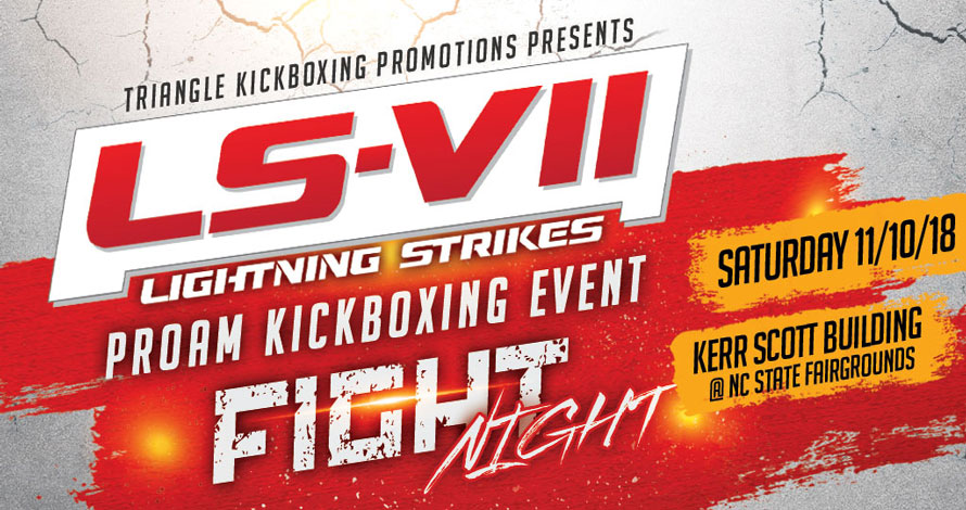 Kickboxing Event - Lightning Strikes VII