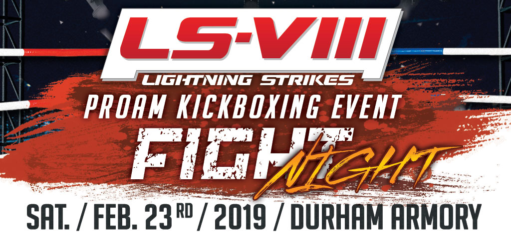 Kickboxing Event - Lightning Strikes VIII