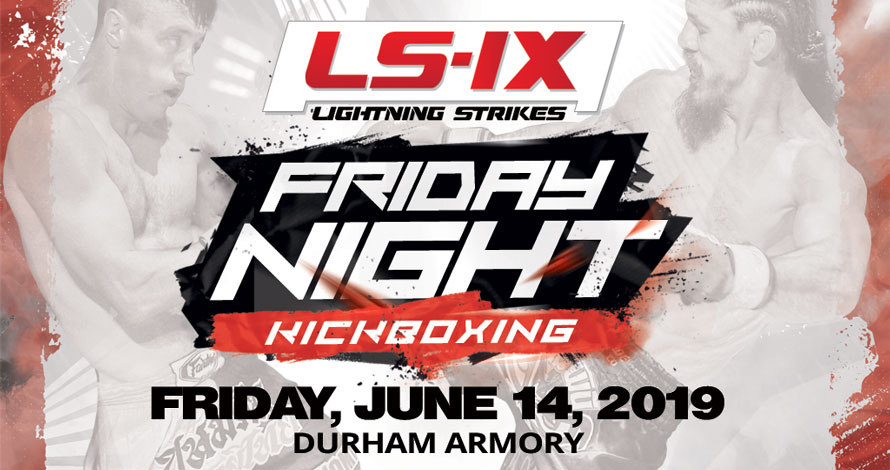 Lightning Strikes 9 Kickboxing Event